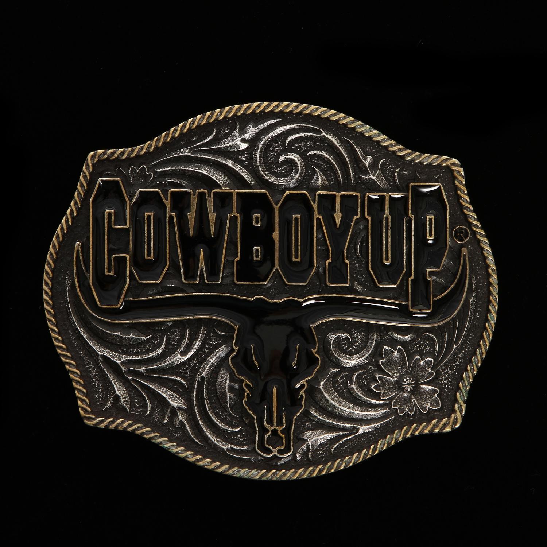 Montana Attitude Cowboy Up Buckles Buckles Accessories Mens