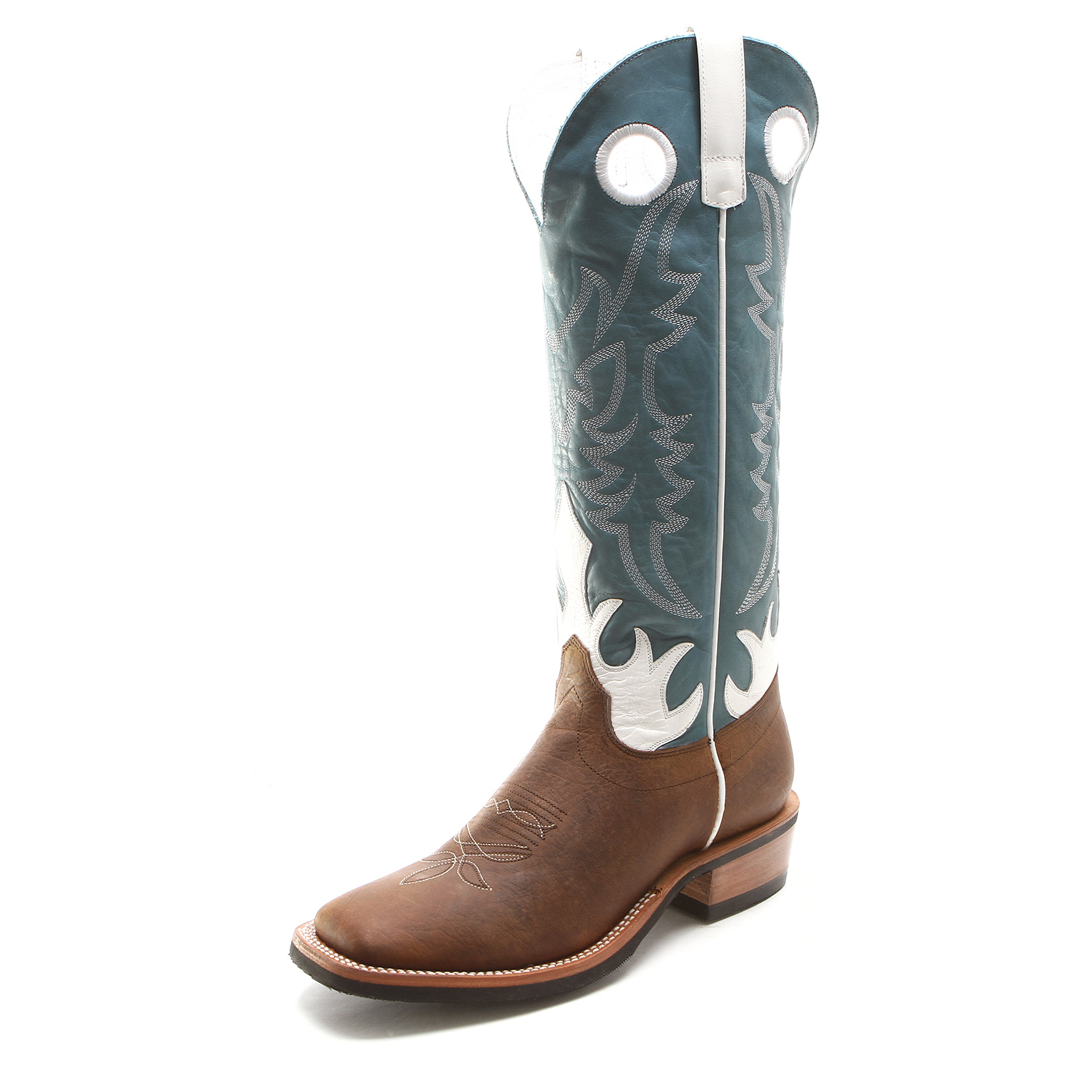 Olathe Men&39s Tall Top Square Toe Distressed Cowboy Boots