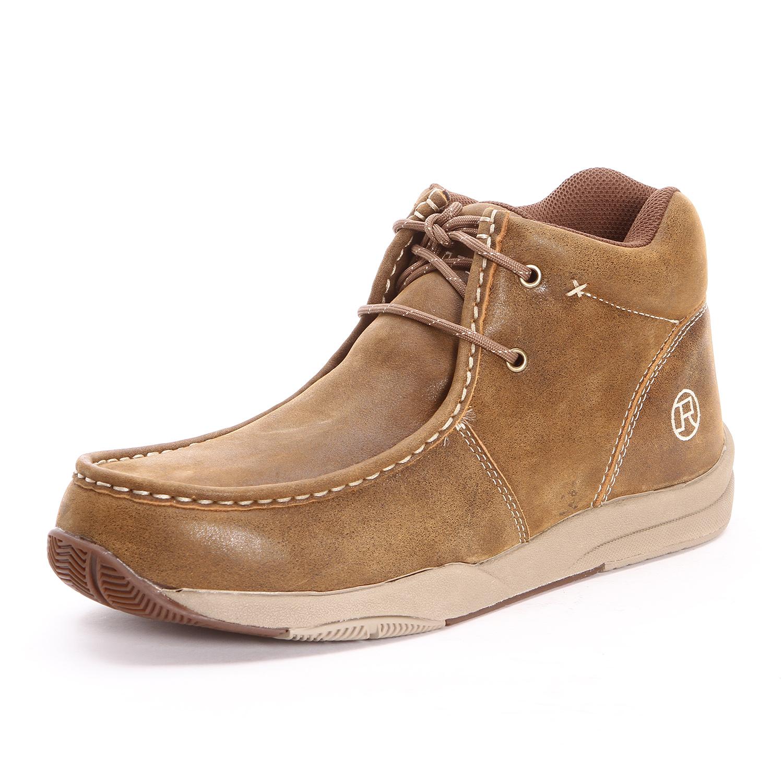 Roper Slip On Boot Shoes Mens