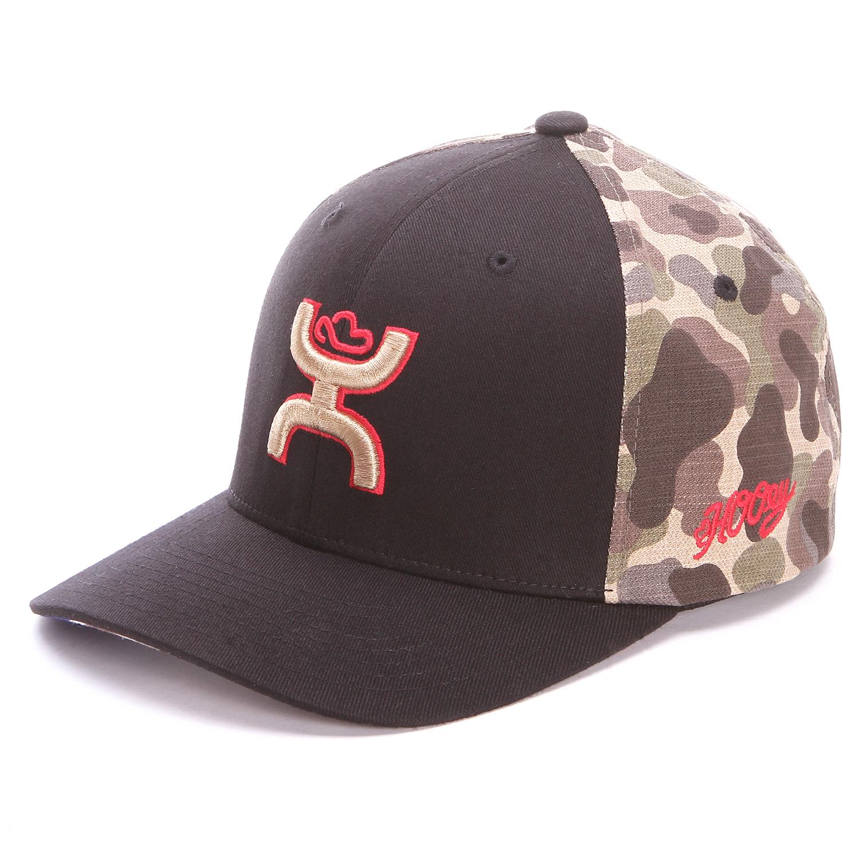 quality design 13739 2fbe8 Hooey Men  s Flex Fit Chris Kyle Black Caps