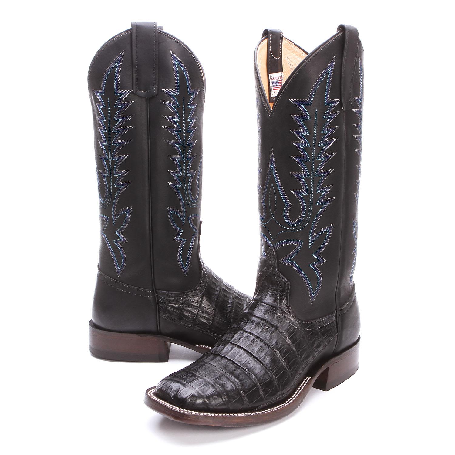 BootDaddy Collection with Anderson Bean Caiman Alligator Belly