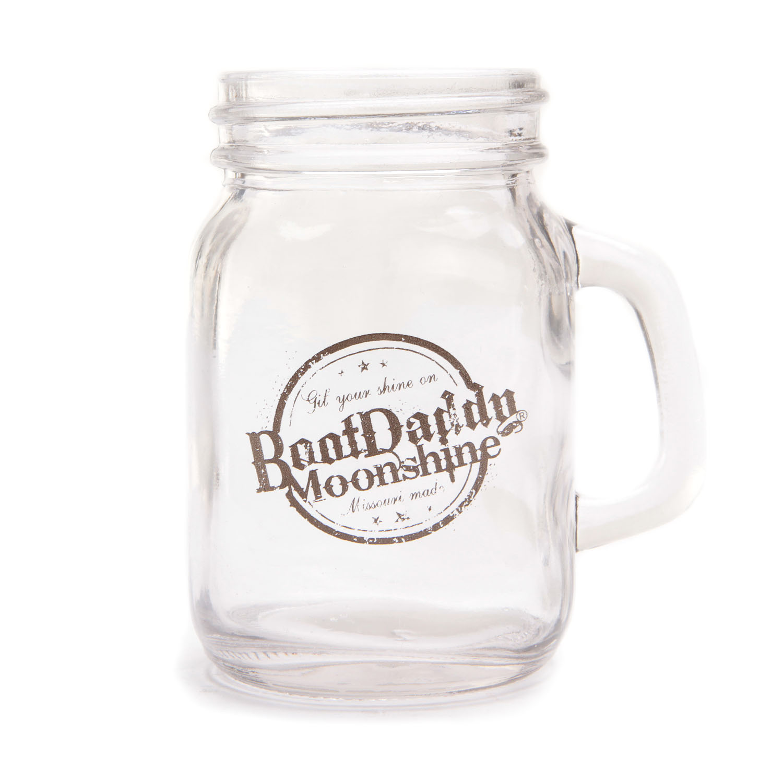 Bootdaddy Moonshine Mini Mason Jar