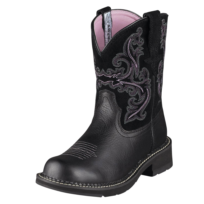 Ariat Womens Fatbaby Ii Cowboy Boots Black