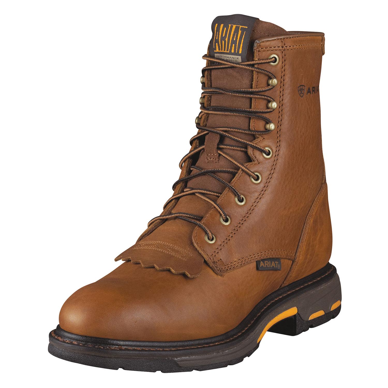 Mens Images Toe Square Work Boots For Men Ariat Cowboy Amp Ideas