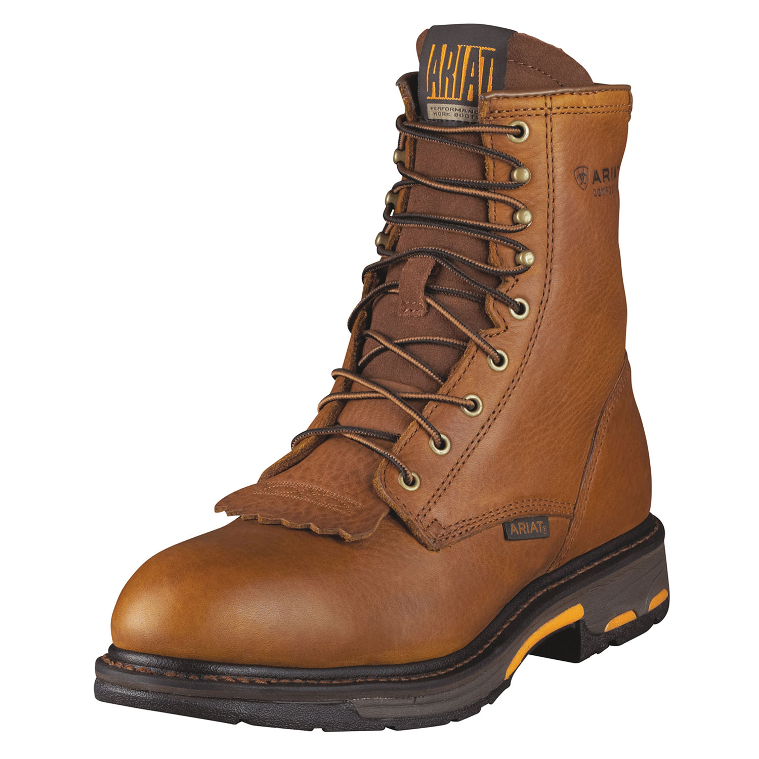 Ariat Mens Composite Safety Toe Lacer Workhog Work Boots