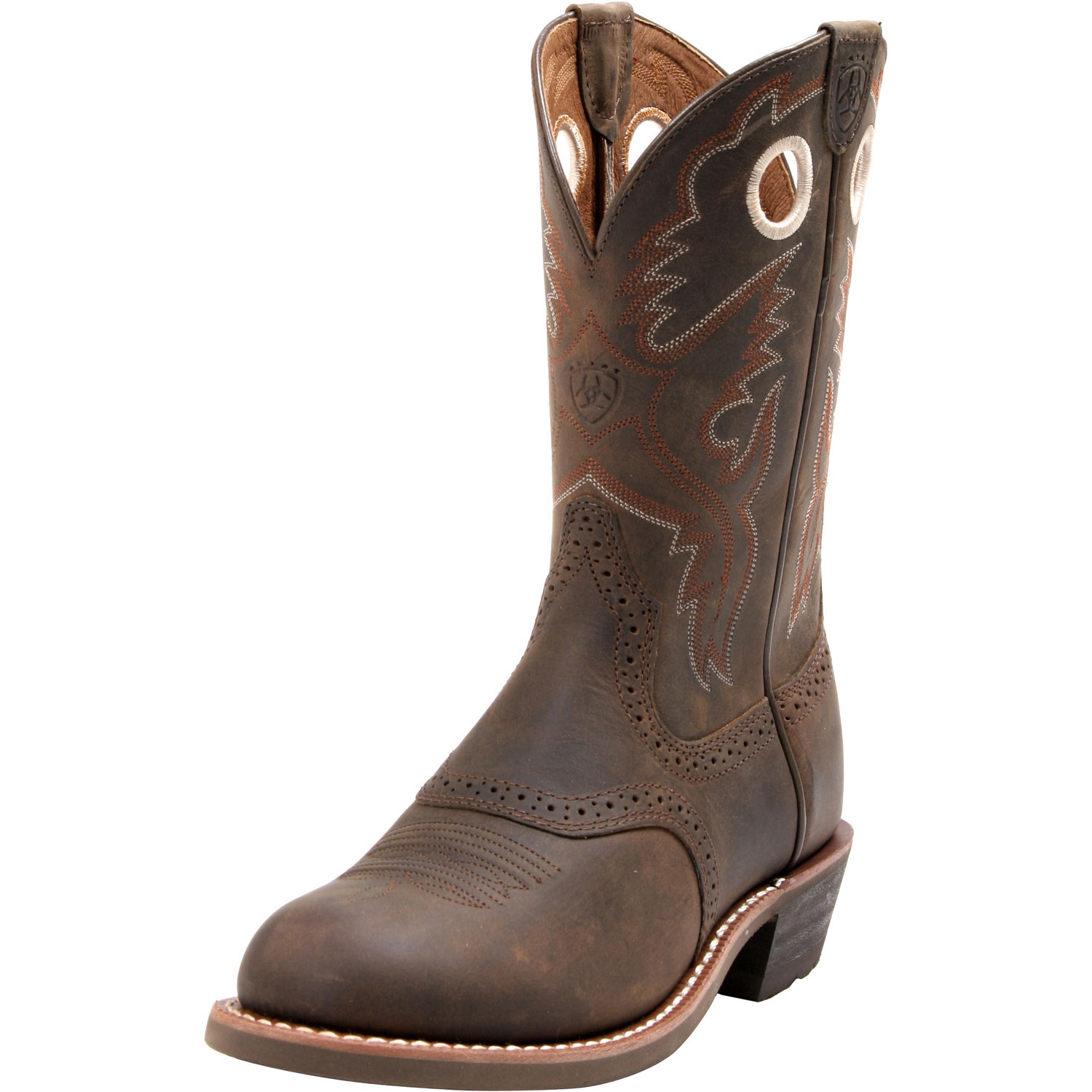 Ariat Womens Heritage Roughstock Boots Brown