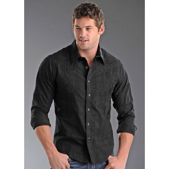 Men S Clothing 1950 Swing Party Shirt Vine Large Size Uk Rock