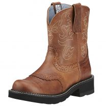 Ariat Womens Fatbaby Saddle Cowgirl Boots 10000860