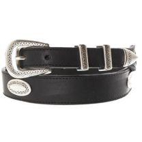 Nocona Black Concho Belts
