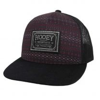 Hooey Doc Red and Black Diamond Mesh Cap