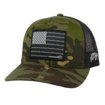 Hooey Liberty Roper Green and Black Trucker Cap