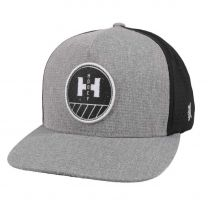 Hooey Plow Logo Grey and Black Mesh Cap