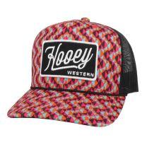 Hooey Lakota Pink and Black Mesh Trucker Cap