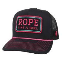Hooey Rope Like A Girl Mesh Trucker Cap