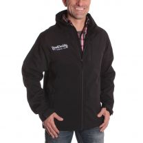 BootDaddy Mens Shell TEK Jacket Black