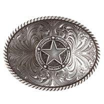 Montana Silversmiths Attitude Texas Star Buckles