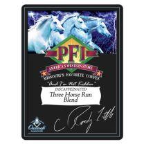 Three Horse Run Blend Decaffeinated Coffees- 16oz
