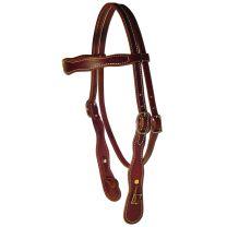 Berlin Custom Leather Company Cowboy Headstall