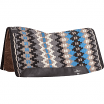 Classic Equine Blanket Top Felt Pad (Black/Malibu)