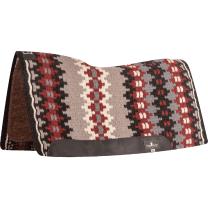 Classic Equine Blanket Top Felt Pad (Black/Red)