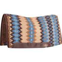 Classic Equine Blanket Top Felt Pad (Coffee/Malibu)
