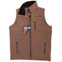 BootDaddy Mens Coffee Shell TEK Concealed Carry Vest