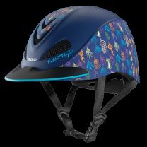 Troxel Fallon Taylor Navy Dreamcatcher Helmet