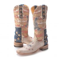 BootDaddy with Old Gringo Womens Patriotic Western Boots