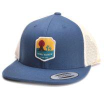 Hooey Blue Desert Snapback Cap