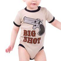 Baby Boys Big Shot Cowboy Onesie
