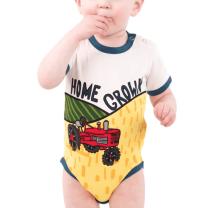 Baby Home Grown Tractor Onesie