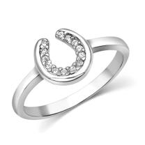 Montana Silversmiths Womens Horseshoe Ring