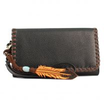 Blazin Roxx Womens Teagan Clutch Wallet