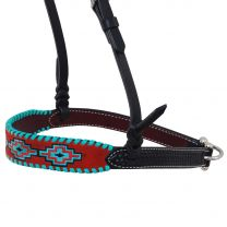 Rafter T Ranch Company Embroidered Aztec Noseband