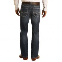 Rock and Roll Mens Reflex Pistol Regular Straight Jeans