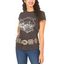 Wrangler Retro Womens Lucky Stars Western T Shirt
