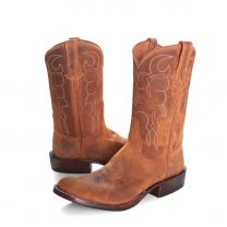 BootDaddy with Rios of Mercedes Mens Roughout Cowboy Boots