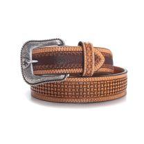 Ariat Mens Tight Basket Weave Leather Belt