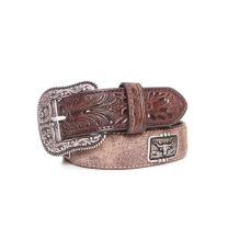 Ariat Mens Longhorn Conchos Leather Belt