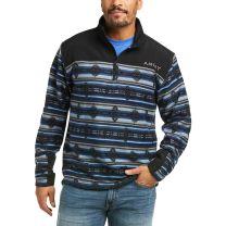 Ariat Mens Southwest Print Quarter Zip Sweatshirt