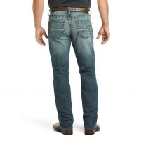 Ariat Mens M4 Low Rise Stackable Straight Jeans