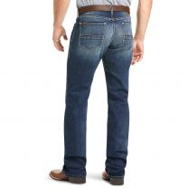 Ariat Mens M5 Straight Fit Straight Leg Western Jeans