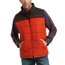 Ariat Mens Orange Block Crius Concealed Carry Vest