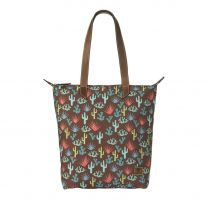 Ariat Womens Cactus and Succulents Tote Bag