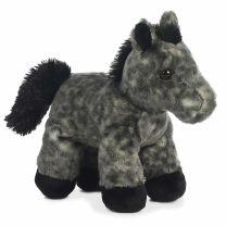 Stormy Gray Stuffed Horse Pony