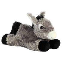 Western Donkey Stuffed Animal