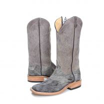 BootDaddy Anderson Bean Mens Gray Kudu Cowboy Boots