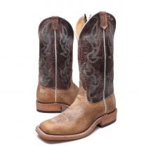 BootDaddy Anderson Bean Mens Tumbled Cowboy Boots