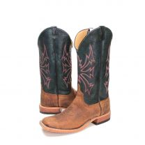 BootDaddy Anderson Bean Mens Bison Cowboy Boots