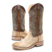 BootDaddy Anderson Bean Mens Tumbled Buffalo Cowboy Boots